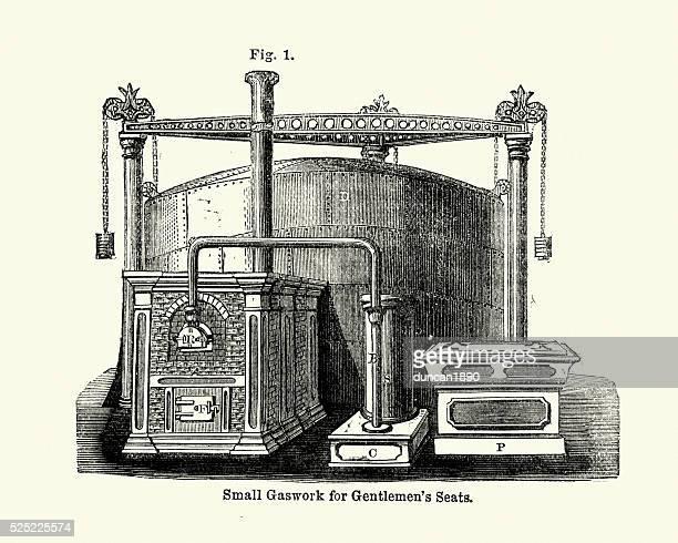 Victorian machines - Small Gaswork for Gentlemens seats