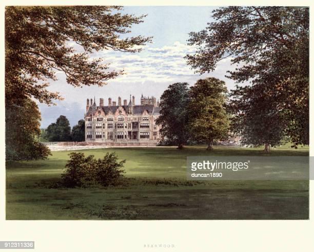 Victorian mansion, Bearwood House, Hurst, Berkshire