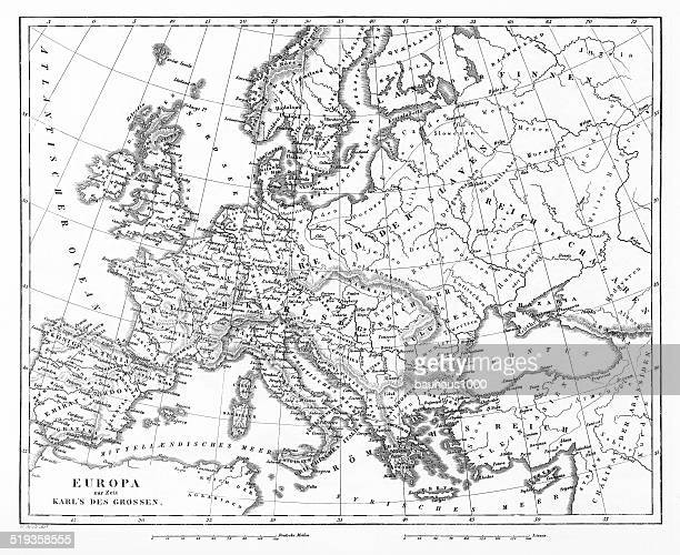 Victorian Map of Europe