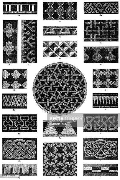 Victorian ornamental art deisgn elements