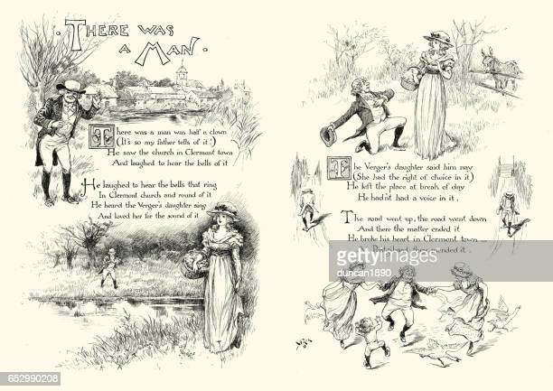 Victorian poem, a woman rejecting a mans proposal of marriage