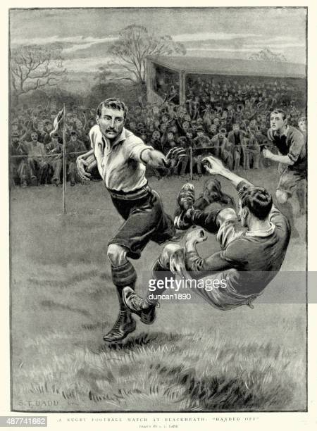 Victorian Rugby Football Match at Blackheath, 1897
