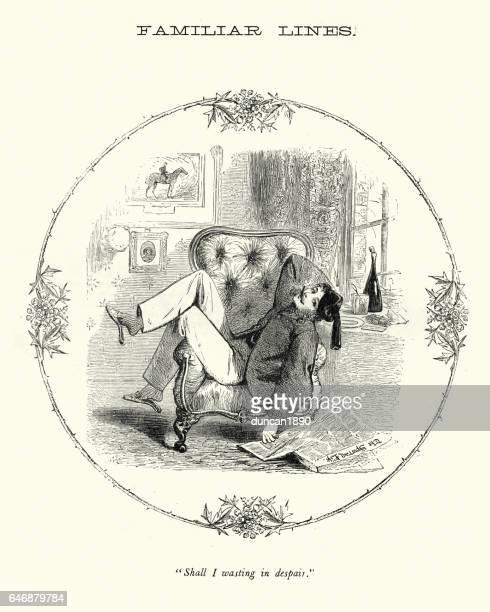 ビクトリア朝の風刺 - ゴロゴロ怠惰な紳士