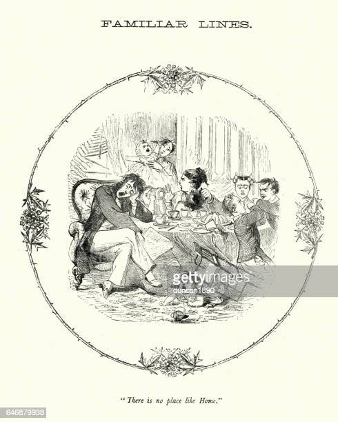 Victorian satire - There is no place like home