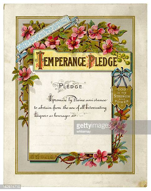Victorian Temperança penhora certificado