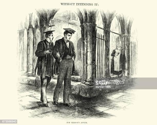 Victorian university students, 19th Century