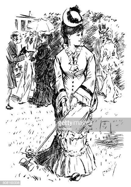 60 Top Croquet Stock Illustrations, Clip art, Cartoons