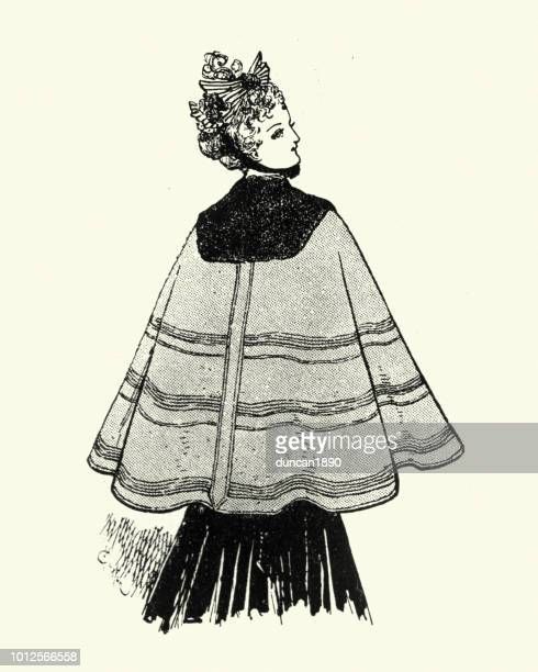 Victorian women's clothing 1890s, Cape