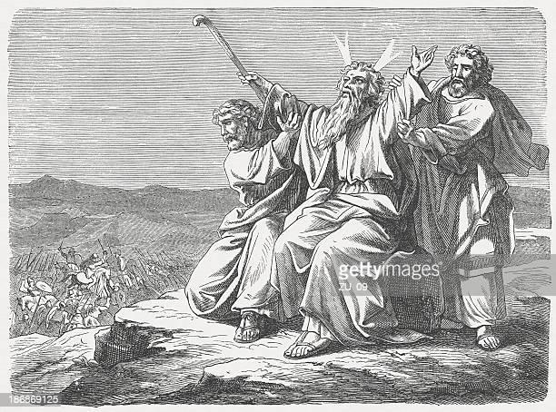 勝利を Amalekites (Exodus 17 日、13 日)