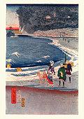 View of Tokaido by Hiroshige