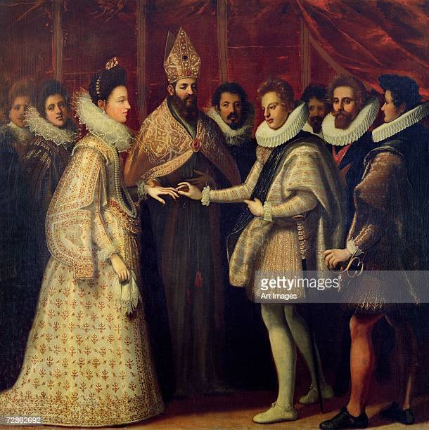 The Marriage of Catherine de Medici and Henri II 1533