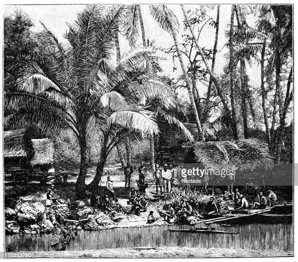 Village in New Guinea