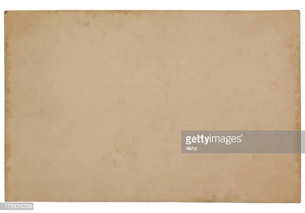 illustrazioni stock, clip art, cartoni animati e icone di tendenza di vuoto vintage vecchia carta di texture di carta danneggiata - carta da pacchi
