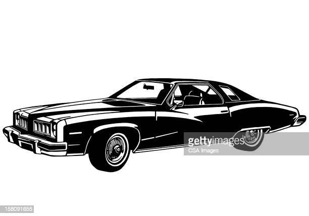 30 Meilleurs Voiture Ancienne Noir Et Blanc Illustrations