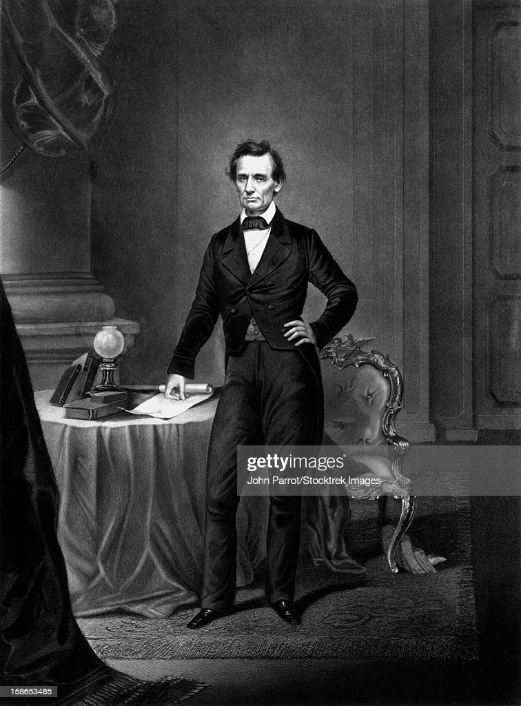 graphic regarding Printable Pictures of Abraham Lincoln identified as Basic Civil War Technology Print Of President Abraham Lincoln