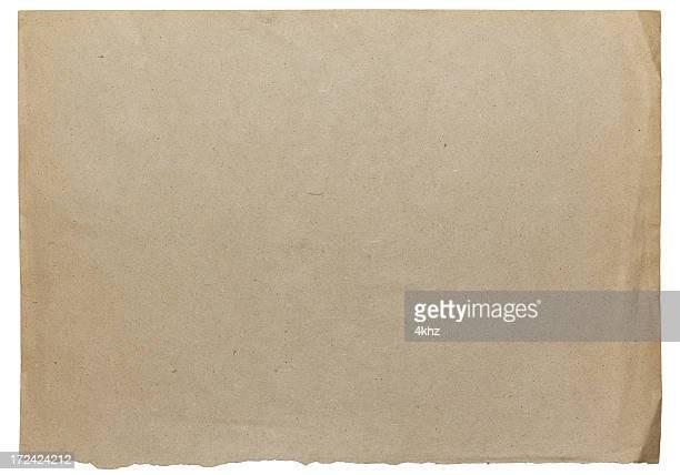 vintage damaged old blank card paper texture - brown paper stock illustrations