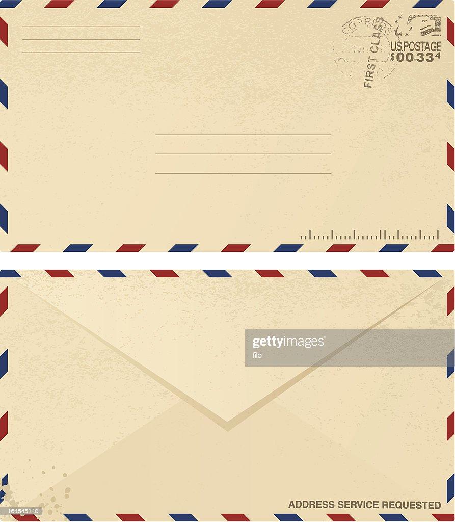 Vintage Envelope Design