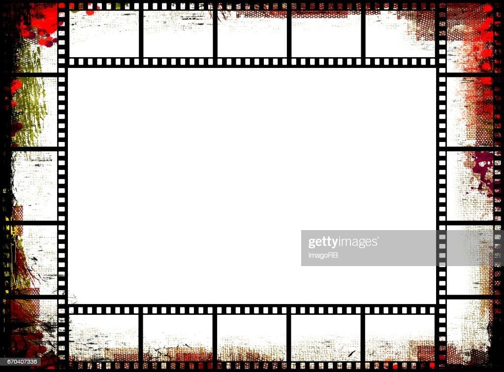 Vintage Film Strip Frame Stock-Illustration | Getty Images