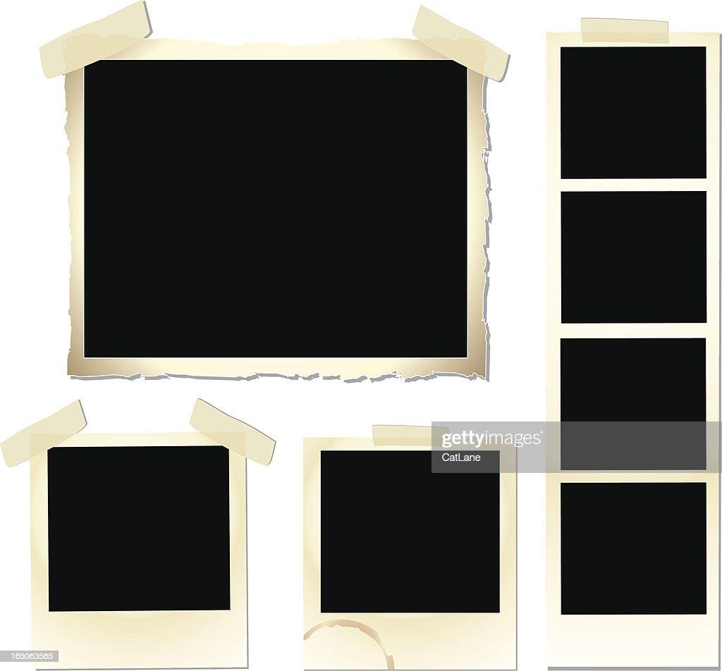 Vintage Frame Set : stock illustration