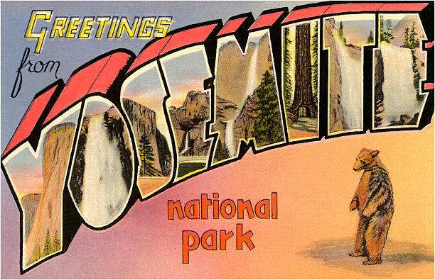 CA: 1st October 1890: Yosemite National Park Established