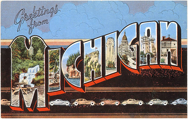 Greetings from michigan pictures getty images greetings from michigan m4hsunfo