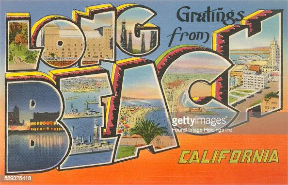 Greetings from long beach california pictures getty images m4hsunfo Gallery
