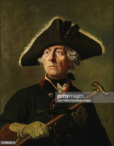 vintage painting of frederick the great of prussia. - 油絵点のイラスト素材/クリップアート素材/マンガ素材/アイコン素材