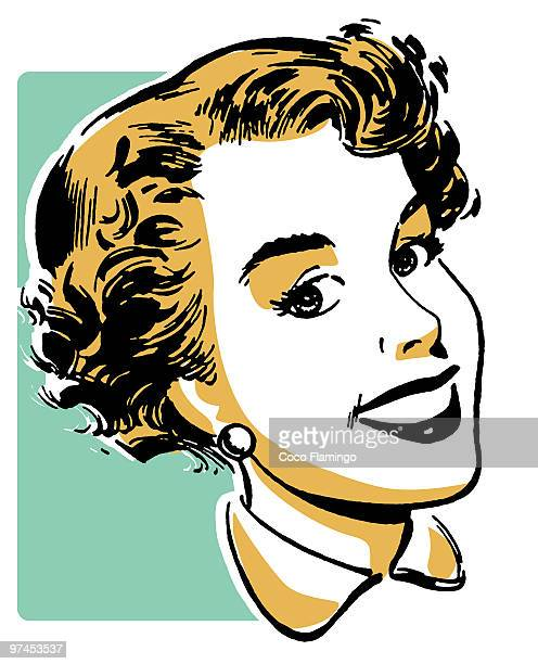 a vintage portrait illustration - tiziano vecellio stock illustrations, clip art, cartoons, & icons