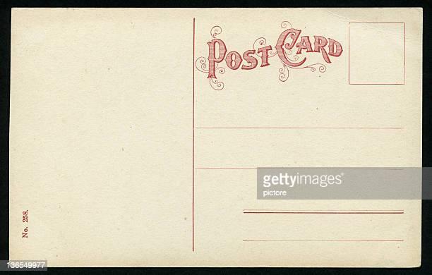 vintage postcard (xxxl) - 1900 stock illustrations