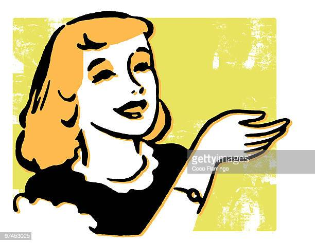 a vintage style portrait of a woman - tiziano vecellio stock illustrations, clip art, cartoons, & icons