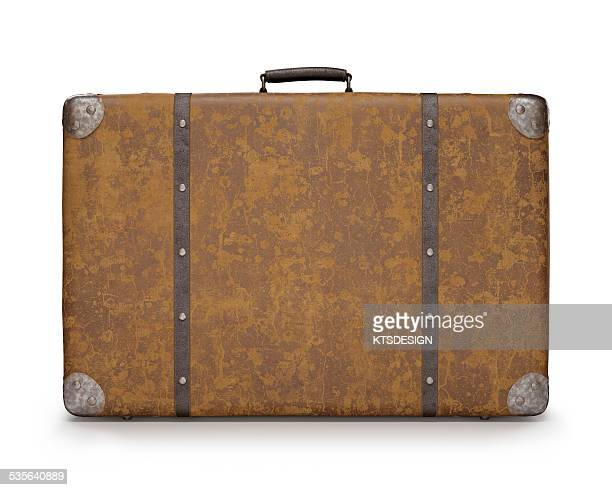 Vintage suitcase, illustration