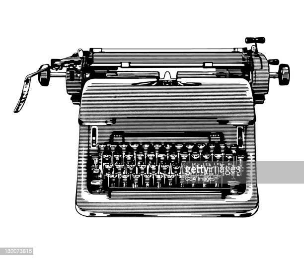ビンテージタイプライター - タイプライター点のイラスト素材/クリップアート素材/マンガ素材/アイコン素材
