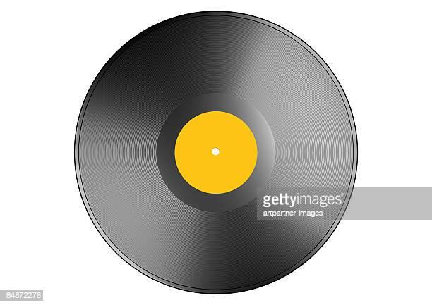 vinyl, record - アナログレコード点のイラスト素材/クリップアート素材/マンガ素材/アイコン素材