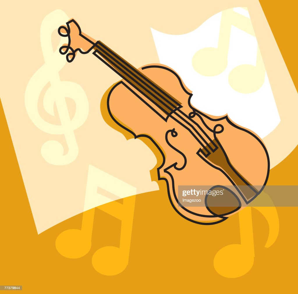 Violin : Illustration