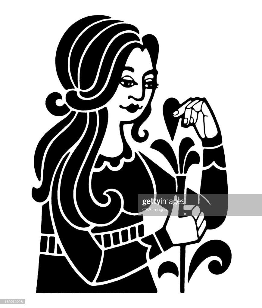 Virgo zodiac symbol stock illustration getty images virgo zodiac symbol stock illustration buycottarizona Gallery