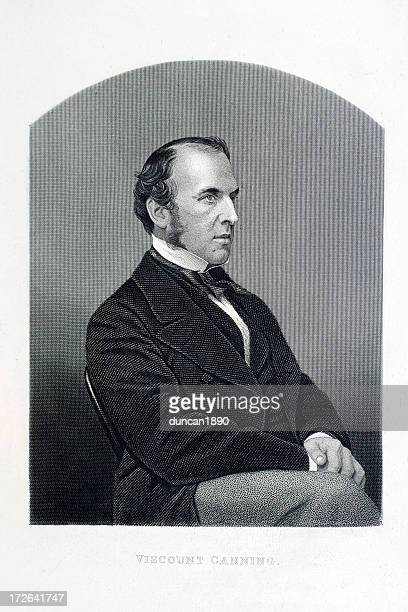 viscount canning - governor stock illustrations, clip art, cartoons, & icons