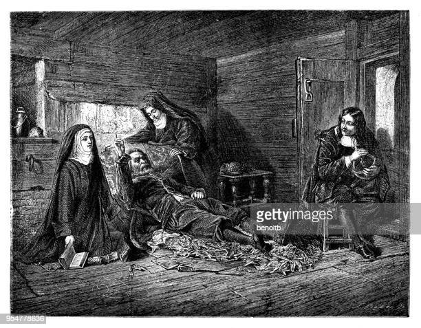 Visit of John Milton to Galileo