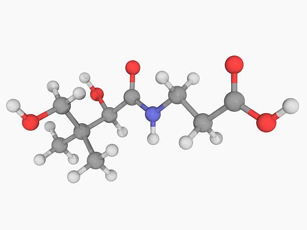Vitamin B5 (pantothenic Acid) Molecule Wall Art