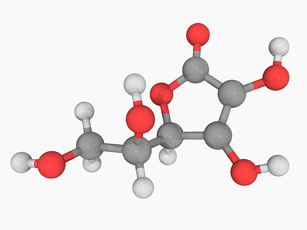 Vitamin C (ascorbic Acid) Molecule Wall Art