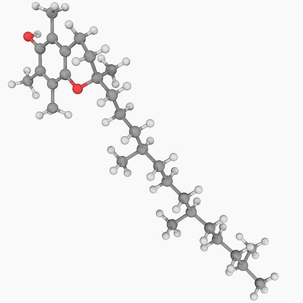 Vitamin E Molecule Wall Art