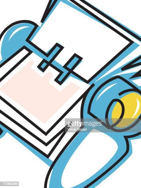 vmo0409 - rolodex stock illustrations, clip art, cartoons, & icons