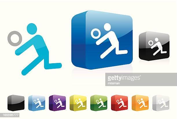 ilustraciones, imágenes clip art, dibujos animados e iconos de stock de de voleibol/recorrido - vóleibol de playa