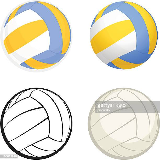 Illustrations et dessins anim s de ballon de volley - Dessin de ballon ...