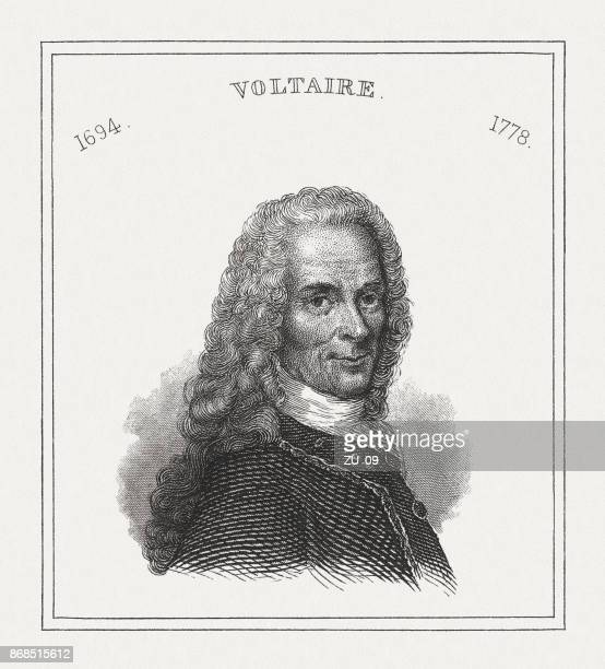 Voltaire (1694-1778, French philosopher of the Enlightenment, published in 1843