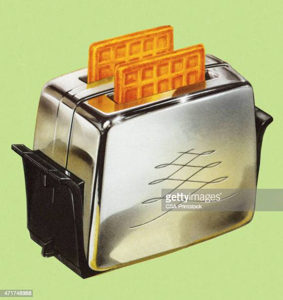 Waffles in Toaster