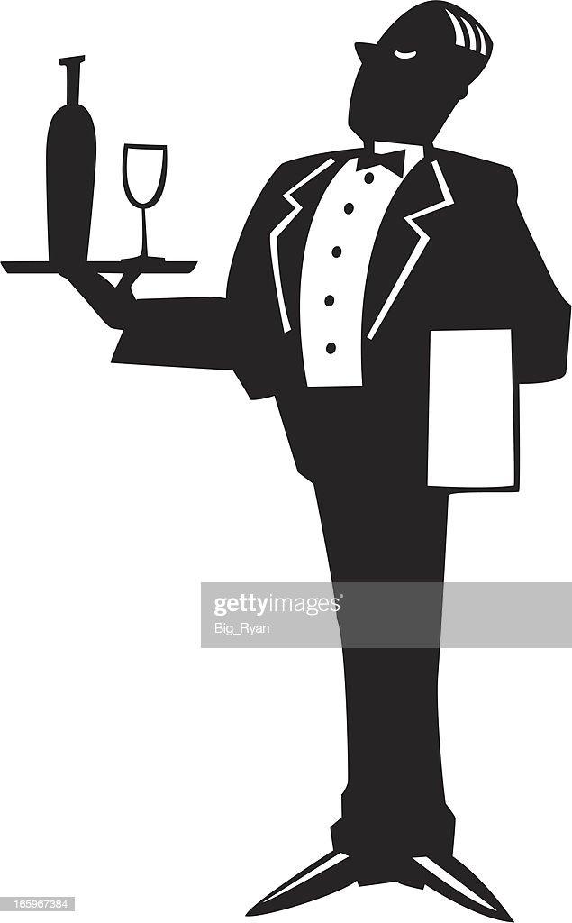 waiter graphic