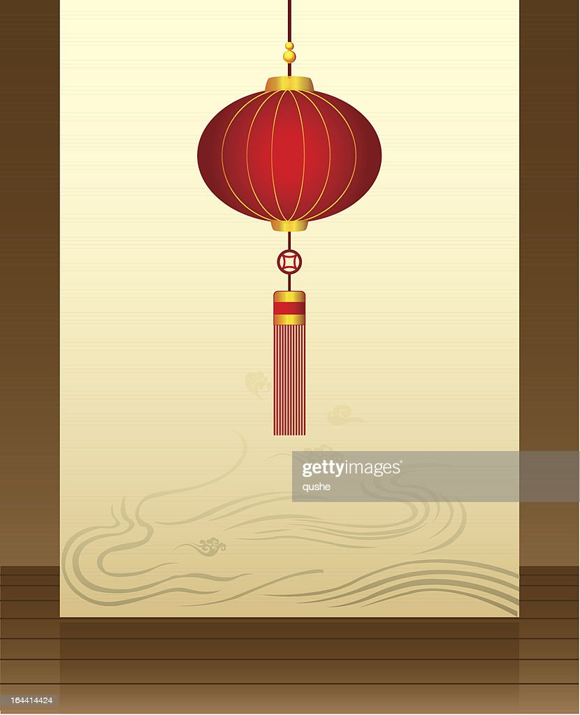 Wall of Chinese Lantern