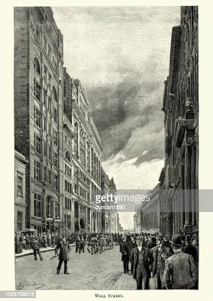 Wall Street, New York, 19th Century