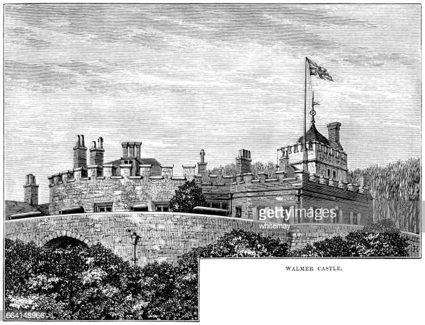 Walmer Castle (Victorian engraving)