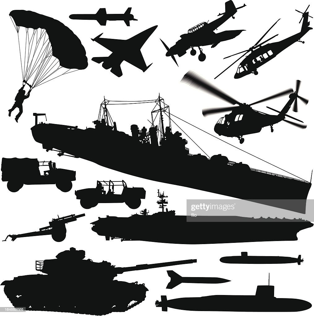 Warfare Silhouette Elements
